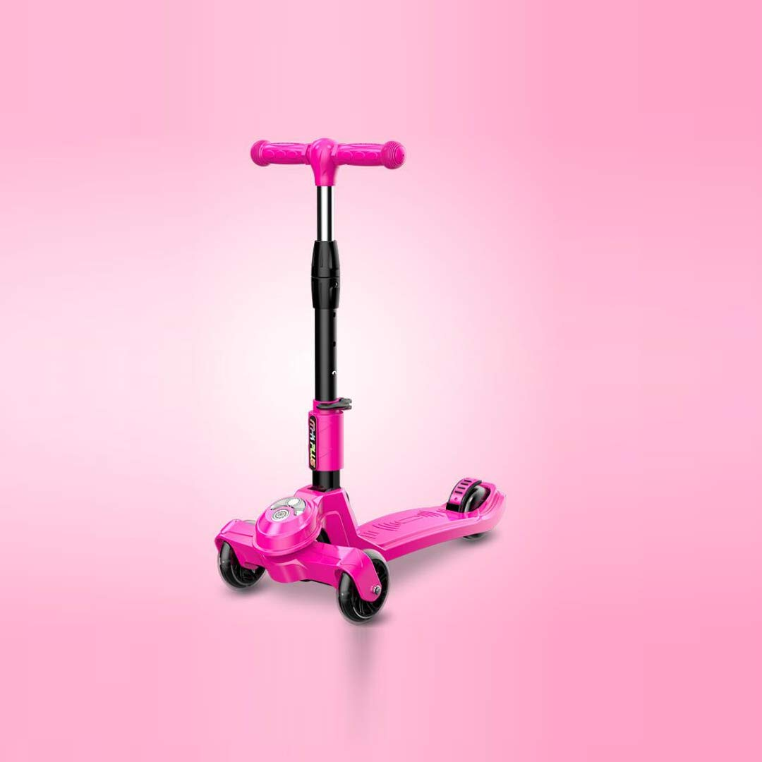 当店在庫してます! TLMYDD Pink スクーター子供用スクーターフラッシュ折りたたみ式三輪スライド、28x60x83cm Pink 子供スクーター B07NMWH665 (色 : Red) B07NMWH665 Pink Pink, SAARISERKA:4b7e1be2 --- a0267596.xsph.ru
