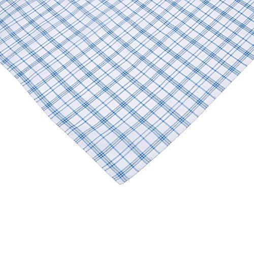 Neatpal 100% Cotton Men's Handkerchiefs Check Pattern Hankies by Neatpal (Image #7)