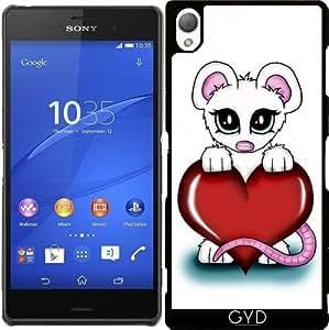 Funda para Sony Xperia Z3 - Amor Mouse by Pezi Creation
