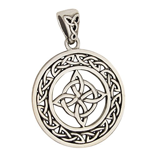 (Moonlight Mysteries Sterling Silver Witches Celtic Knot Triquetra)