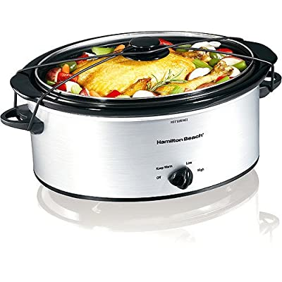 Hamilton Beach 5-Quart Portable Slow Cooker from Hamilton Beach