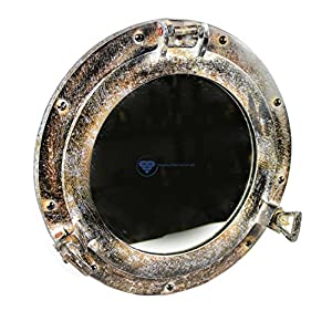516weYvNUHL._SS300_ 100+ Porthole Themed Mirrors For Nautical Homes For 2020