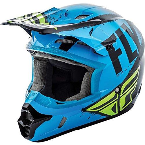 Fly Racing 2019 Kinetic Helmet - Burnish (LARGE) (BLUE/BLACK)
