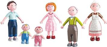 Haba Little Friends Puppen Baby Marie und MaxHaba 302010Minipuppen
