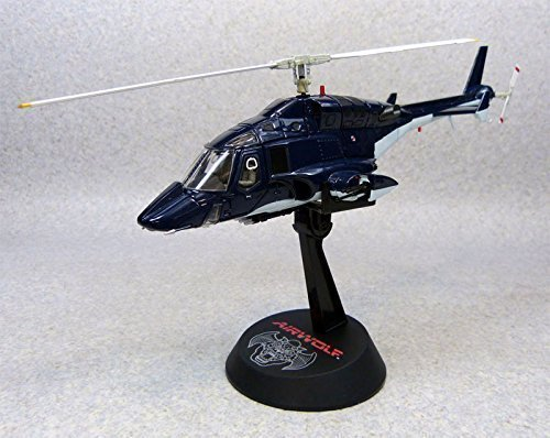 Aoshima Airwolf 1/48 scale high quality diecast model (cobalt (Airwolf Helicopter)