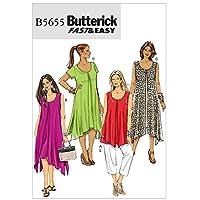 BUTTERICK 5655 B5 - Patrones de Costura (túnica