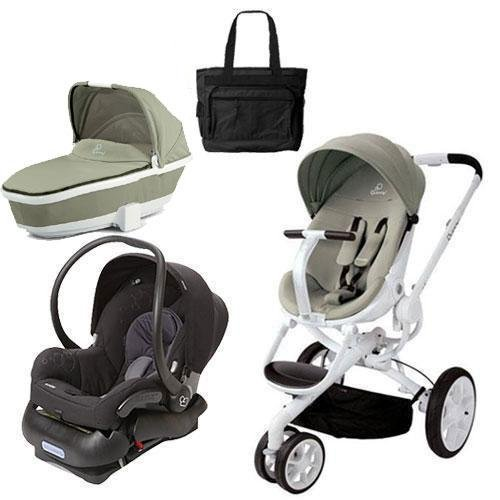 Quinny Pram And Bassinet - 5