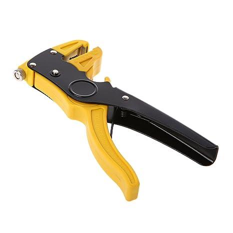 longsw Alicate automático de cortador de cable eléctrico de alicate pelacables automático resistente de alambre: Amazon.es: Bricolaje y herramientas