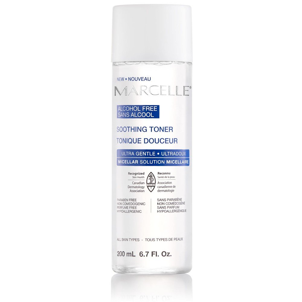 Marcelle Alcohol-Free Soothing Toner, Hypoallergenic and Fragrance-Free, 200 mL Marcelle group - Beauty 165121