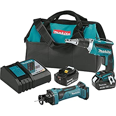Makita XT255MB 18V LXT Lithium-Ion Cordless 2-Pc. Combo Kit (4.0Ah)