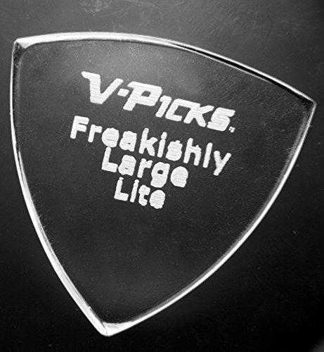 Bluegrass Guitar Picks (Freakishly Large Pointed Lite – Guitar & Mandolin Pick)