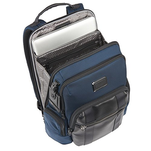 78edc8d2c4 TUMI - Alpha Bravo Nellis Laptop Backpack - 15 Inch Computer Bag for Men  and Women - Navy