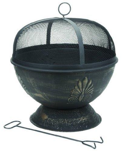 Deckmate Acanthus Steel Fire Bowl Garden, Lawn, Supply, Maintenance