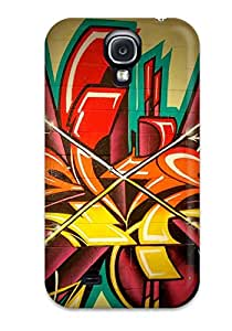 Protective Tpu Case With Fashion Design For Galaxy S4 (funky)