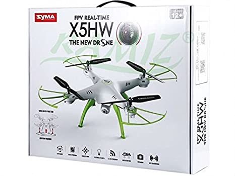 MANDO A DISTANCIA QUADCOPTER DRON SYMA X5HW - BLANCO: Amazon.es ...