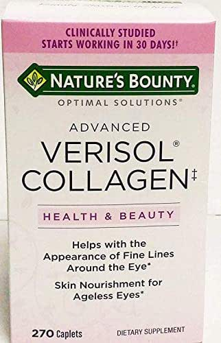 Nature's Bounty Advanced Verisol Collagen, 270 Caplets