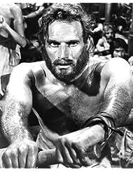 Ben-Hur Charlton Heston Barechested Rowing 16x20 Poster