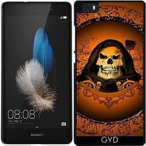Funda para Huawei Ascend P8 Lite - Cráneo by nicky2342