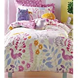 Friends Of The Forest Double Duvet - Hiccups, 100% Cotton by ANIMALS