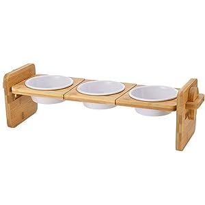 Petacc Elevated Dog Cat Bowls