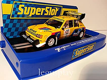SuperSlot - Coche Slot Peugeot 205 T16 Pikes Peak (Hornby S3641)