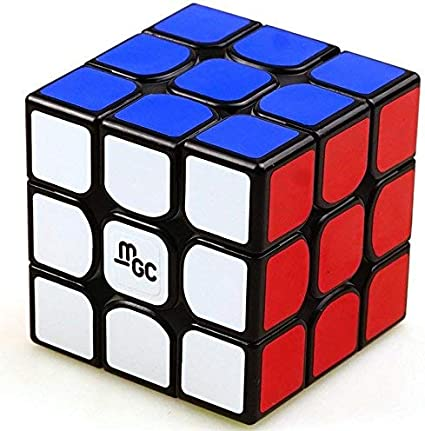 Cubelelo YJ MGC 3x3 Black Speed Cube Puzzle 3x3x3 Magic Cube