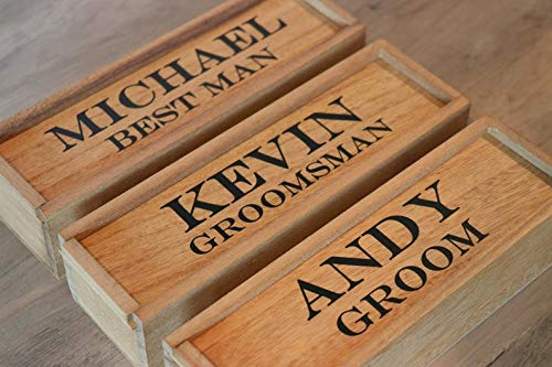 - Personalized Cigar Box Groomsmen Gift Wooden Box, Groomsmen Cigar Gift Box, Best Man Whiskey Cigar Box, Will you be My Groomsmen Gift