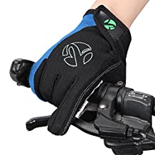Bicycle fall and winter mountain bike cycling gloves for men and women/ full touch screen shock-absorbing non-slip gloves and equipment