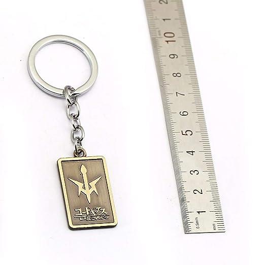 Amazon.com: Hsic Code Geass Lelouch of Keychain Keyring Key ...