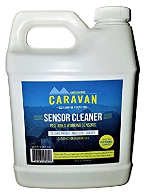 """Caravan """"overnight"""" Sensor and Tank CLEANER - Fix sensors, clear toilet and tank clogs, eco-friendly, probiotic bacteria enzyme formula - new and different microbial-based plumbing solution"""