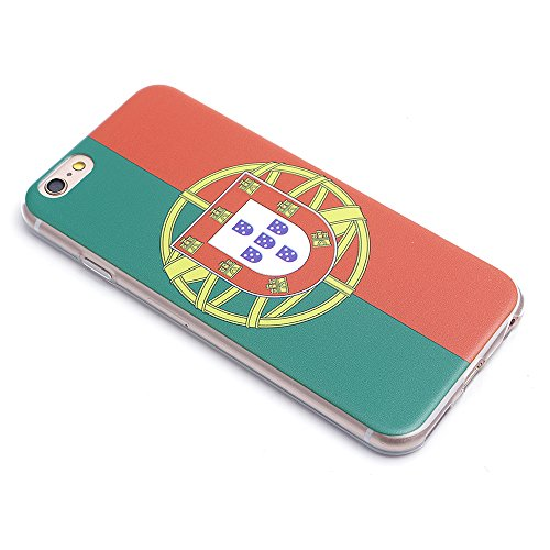 iProtect Apple iPhone 6, 6s (4,7 Zoll) Soft Case Housse en TPU 0,3mm Portugal