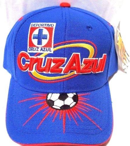 Solスポーツ新しい。Club Deportivo Cruz Azul La Maquina刺繍調節可能なキャップ B07C93T1ST
