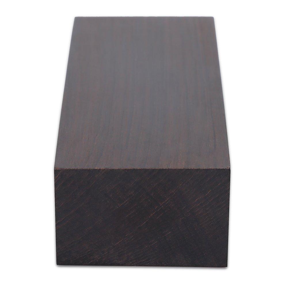 4 Nitrip 12 2.5 Madera de /ébano Negro Madera en Blanco Material de Bricolaje Manijas de /ébano Material Mango de Madera para Instrumentos Musicales Herramientas