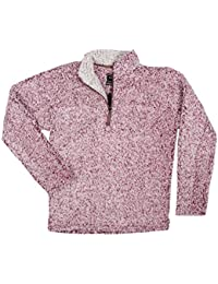 Mens Frosty Tipped Pile 1/4 Zip Pullover