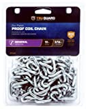 APEX TOOL GROUP 5971230TG Tru-Guard 3/16''x10' Zinc Plated Grade 30 Proof Coil Chain