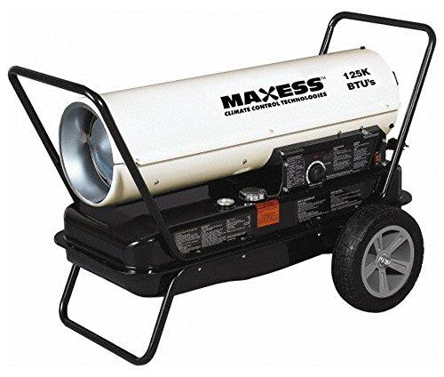 KFA125M, Fuel Forced Air Heaters Type: Multi Fuel Forced Air Heater Fuel Type: Kerosene/1 Diesel/Jet A - Type Jet Kerosene