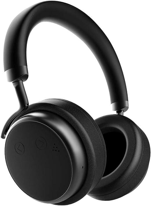 Casque Bluetooth Réduction Bruit Active, XSOUND H5D Écouteurs sans Fil Stéréo ANC Bluetooth 4.0 avec Oreillettes Protéinées, Pilote de 50 mm, Lecture