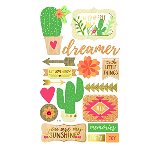 Momenta Cactus Mixed Media Stickers by Momenta