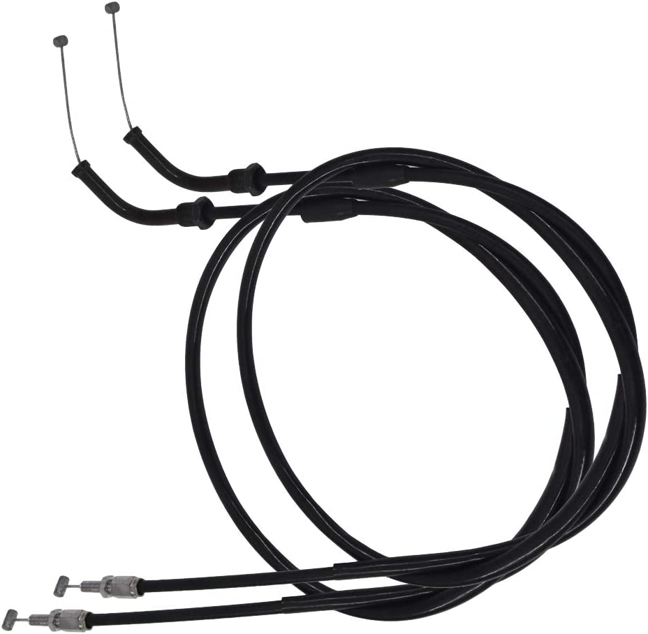 Throttle Cable Push /& Pull Fits for Honda CB1000C CB1000R CB650 CB650C CB750 CB750A FB04003