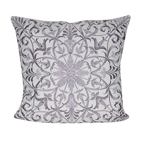 BR &Nameinternal P0545-2222P Lavender baroque Floral Decorative pillow