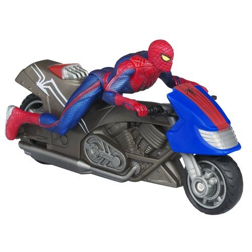 The Amazing Spider-Man Zoom N Go Spider Cycle Vehicle Amazing Spider Man Action Vehicle