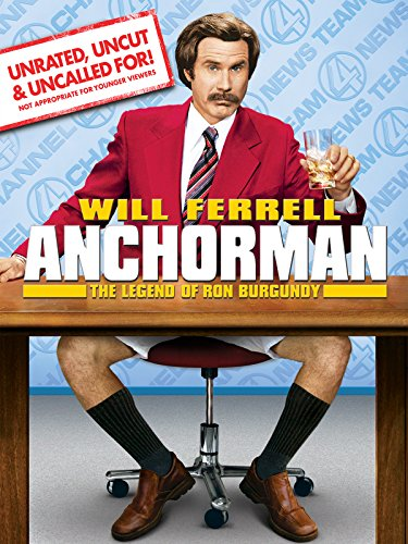 DVD : Anchorman: The Legend of Ron Burgundy (unrated)