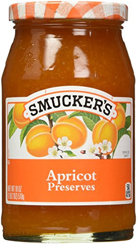 Smucker's  Apricot Preserves, 18-Ounce (Pack of 6)