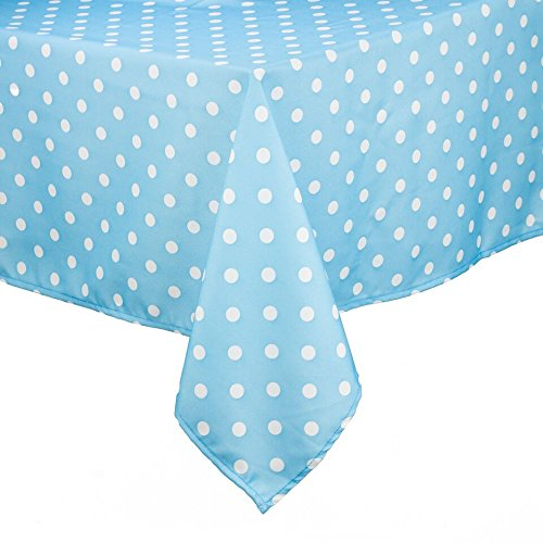 ableclothh 60 x 84, thick, Rectangular 100% Polyester, Machine Washable, Everyday Tablecloth ()