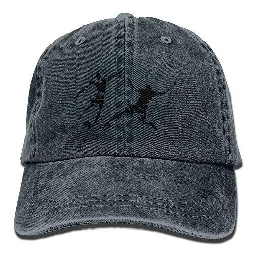 RS-pthrAC!!! Soccer Player Printing Adjustable Baseball Cap Hats for Men Women Adult