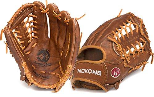 Nokona Walnut Brown Leather Left-haned 11.5-inch