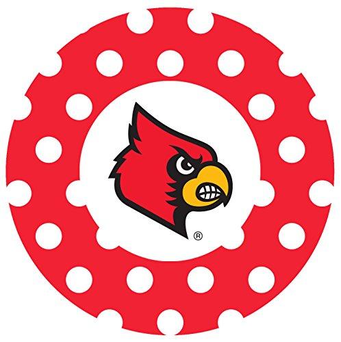 - Thirstystone Stoneware Coaster Set, University of Louisville Dots