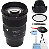 Sigma 50mm f/1.4 DG HSM Art Lens for Sony E 311965 [International Version] (Starter Bundle)