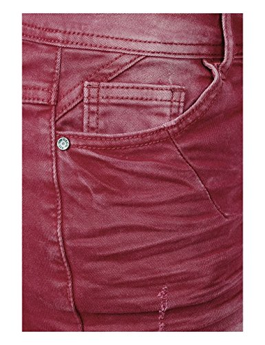 Cranberry 11088 Red para Vaqueros Mujer Straight Cecil Rot xpwqBXFpH