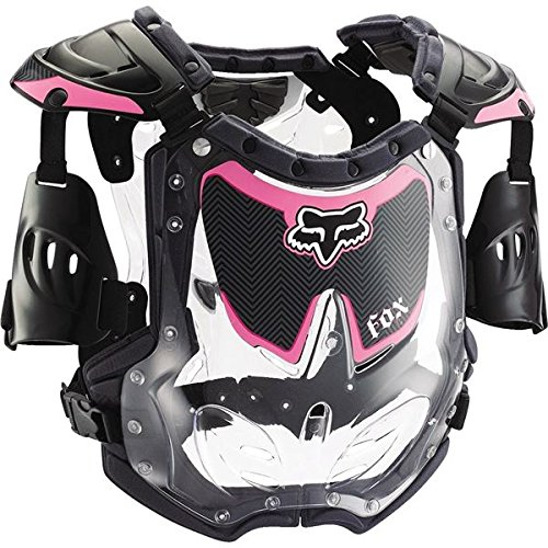- Fox Racing Youth Girl's R3 Roost Deflector - Small/Black/Pink